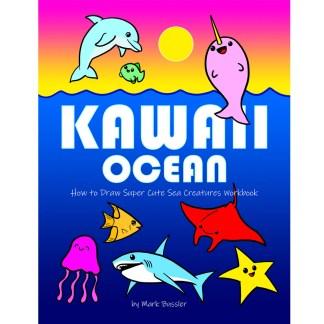 Kawaii Ocean Workbook