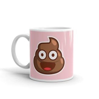Poop Emoji Mug (pink)