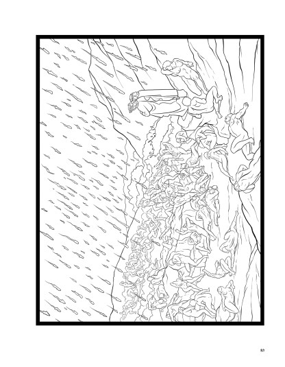 Dante's Inferno: The Coloring Book image 8