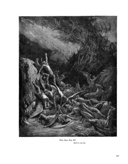 Milton's Paradise Lost: Gustave Doré Retro Restored Edition image 10