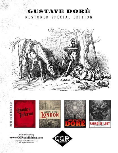 The History of Don Quixote Part 1: Gustave Doré Restored Special Edition Back Cover