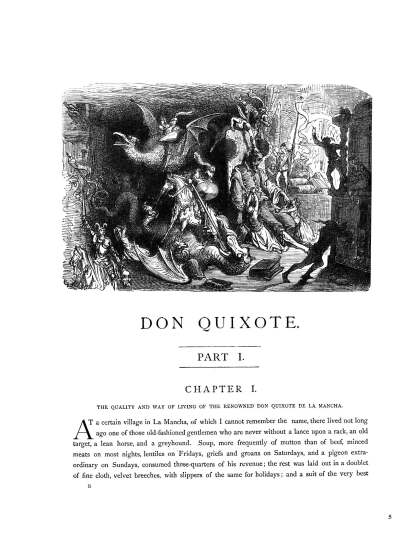 The History of Don Quixote Part 1: Gustave Doré Restored Special Edition Cover image 4