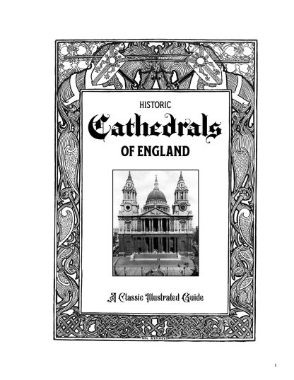 Historic Cathedrals of England: A Classic Illustrated Guide image 2