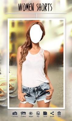 Women-Fashion-Shorts-suit-cg-special-fx-screenshot 4
