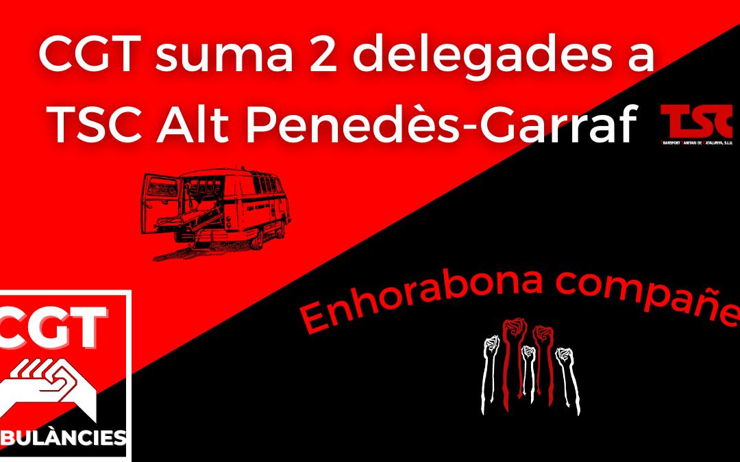 Capçalera CGT eleccions TSC Alt Garraf-Penedes