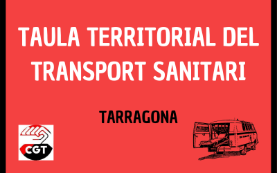 REUNIÓ A LA REGIÓ SANITÀRIA DE TARRAGONA