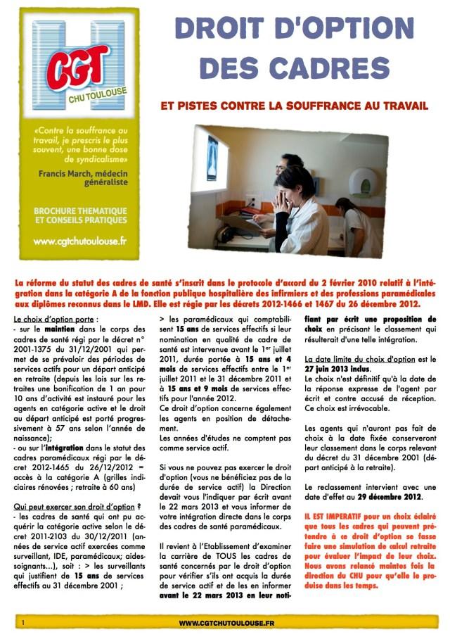 brochure DOption -cadres