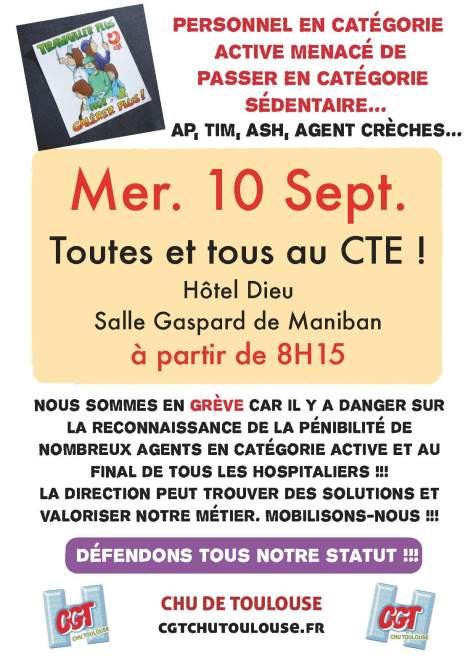 Catégories actives CTE 10 septembre2