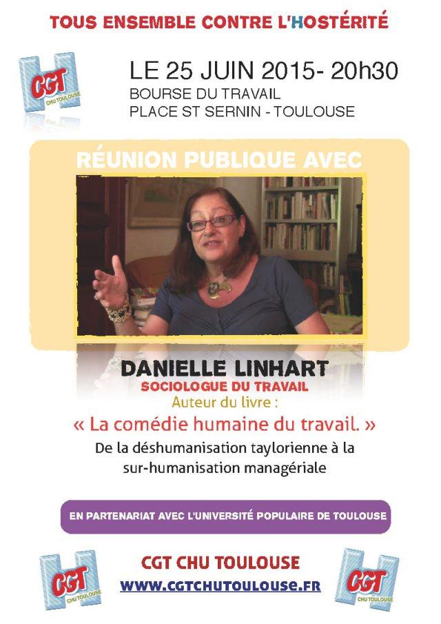 Affiche Danielle Linhart 25 juin