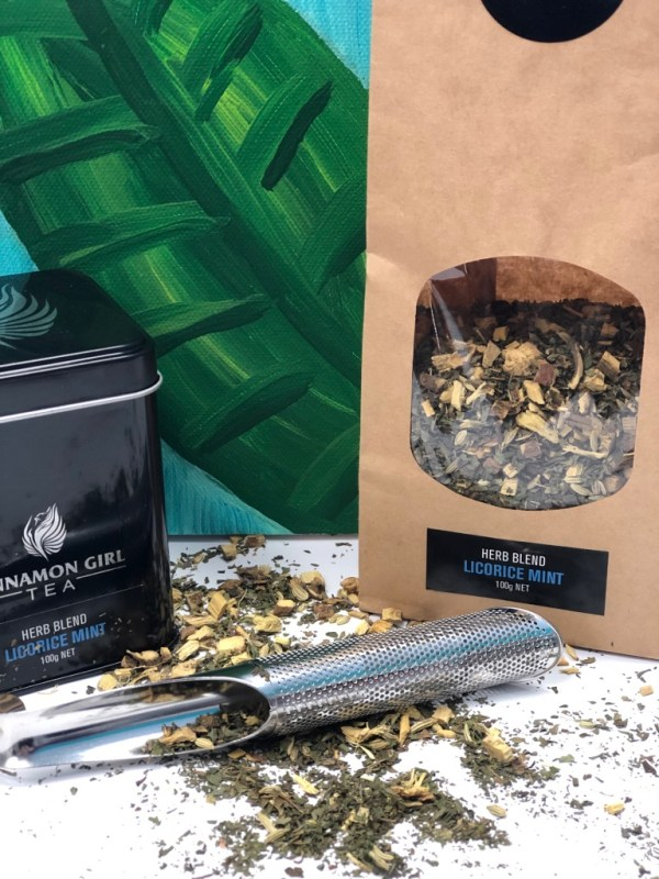 Cinnamon Girl Tea and Spices Licorice Mint