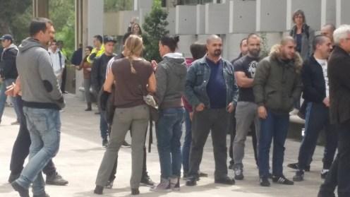 Coneguts militants feixistes insultant i provocant a membres de la comunitat universitària