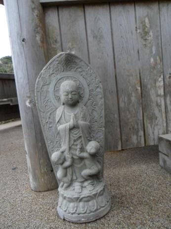 Found this Ojisosama statue near the lighthouse