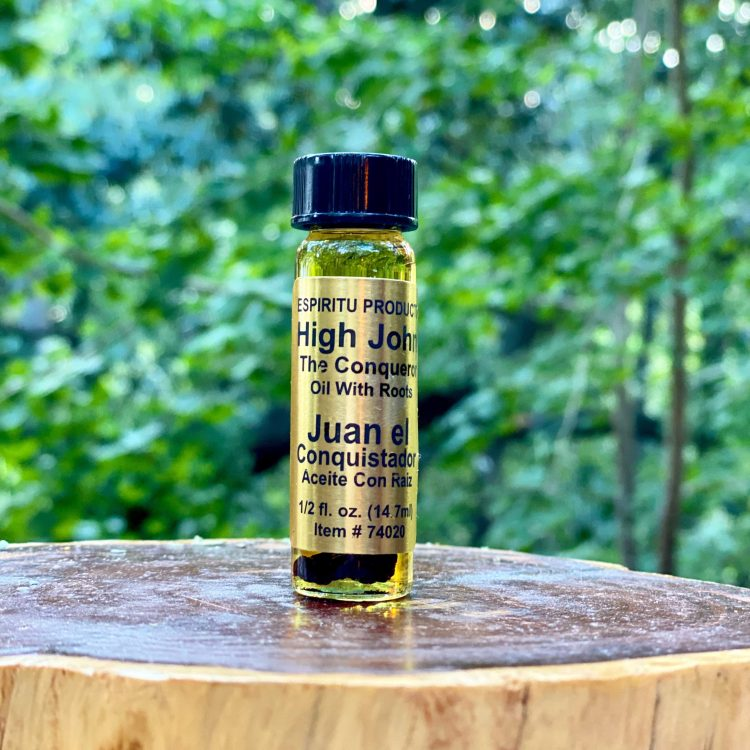 High John the Conqueror Oil with Root