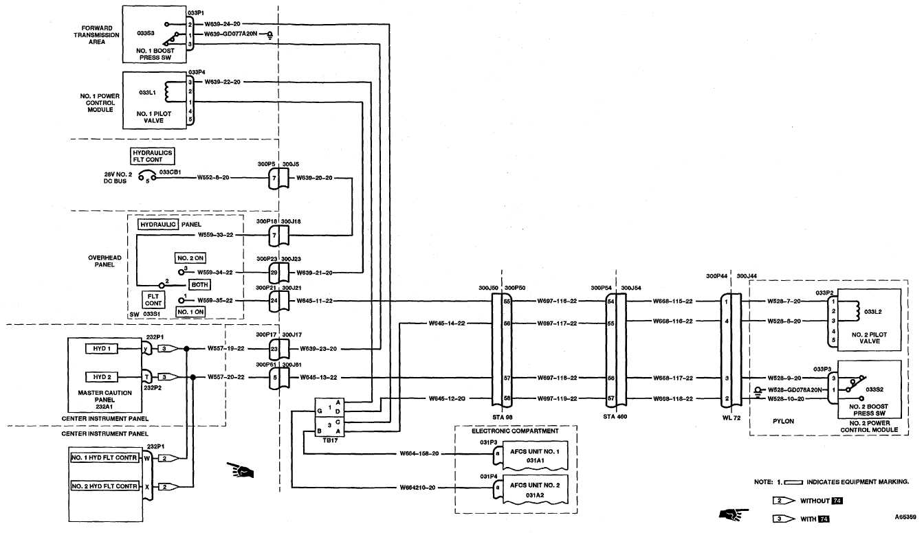 7 1 2 Flight Control Hydraulic System Wiring Diagram