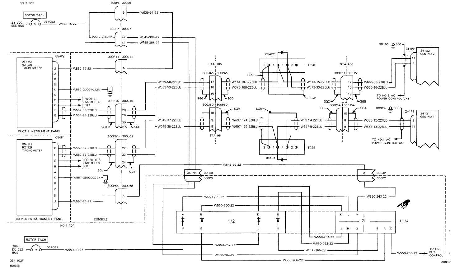 TM-55-1520-240-T-2_442_1 Wiring Diagram For Vdo Tachometer Gauge on circuit diagram, hour meter wiring diagram, vdo ammeter wiring diagrams, fuel sending unit wiring diagram, rocker switch diagram, pro tach wiring diagram, gauge wiring diagram, amp installation diagram, accel distributor wiring diagram, oil pressure sensor diagram, pro comp light installation diagram, 6 volt system diagram, oil pressure sending unit diagram, hydraulic pump diagram, msd tach wiring diagram, 12 to 6 volt diagram, reverse osmosis hook up diagram, alternator wiring diagram, street rod wiring diagram, speedometer diagram,
