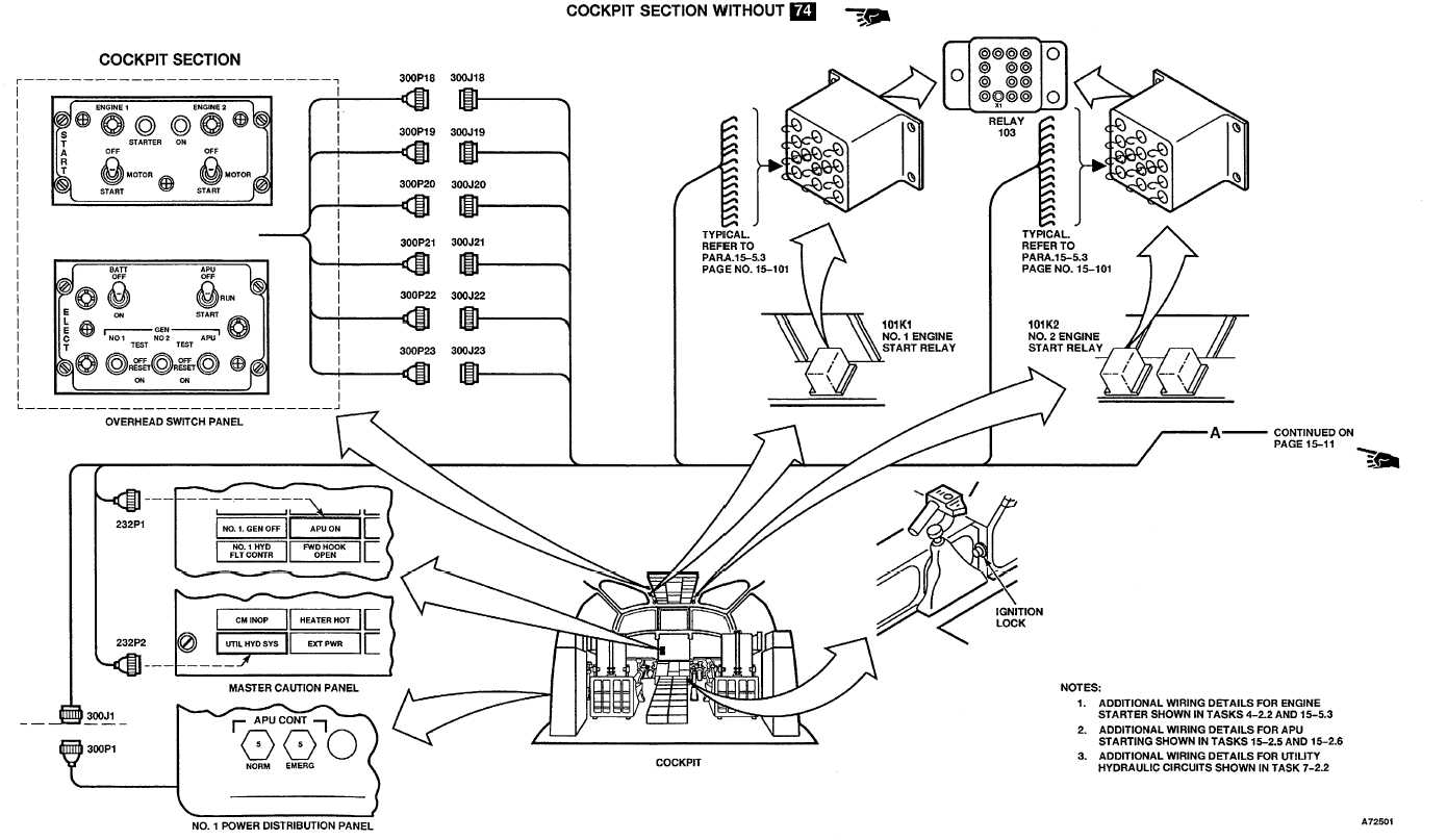 Overall Electrical Cabling Interconnections Of Apu System Components Interfaced To Main