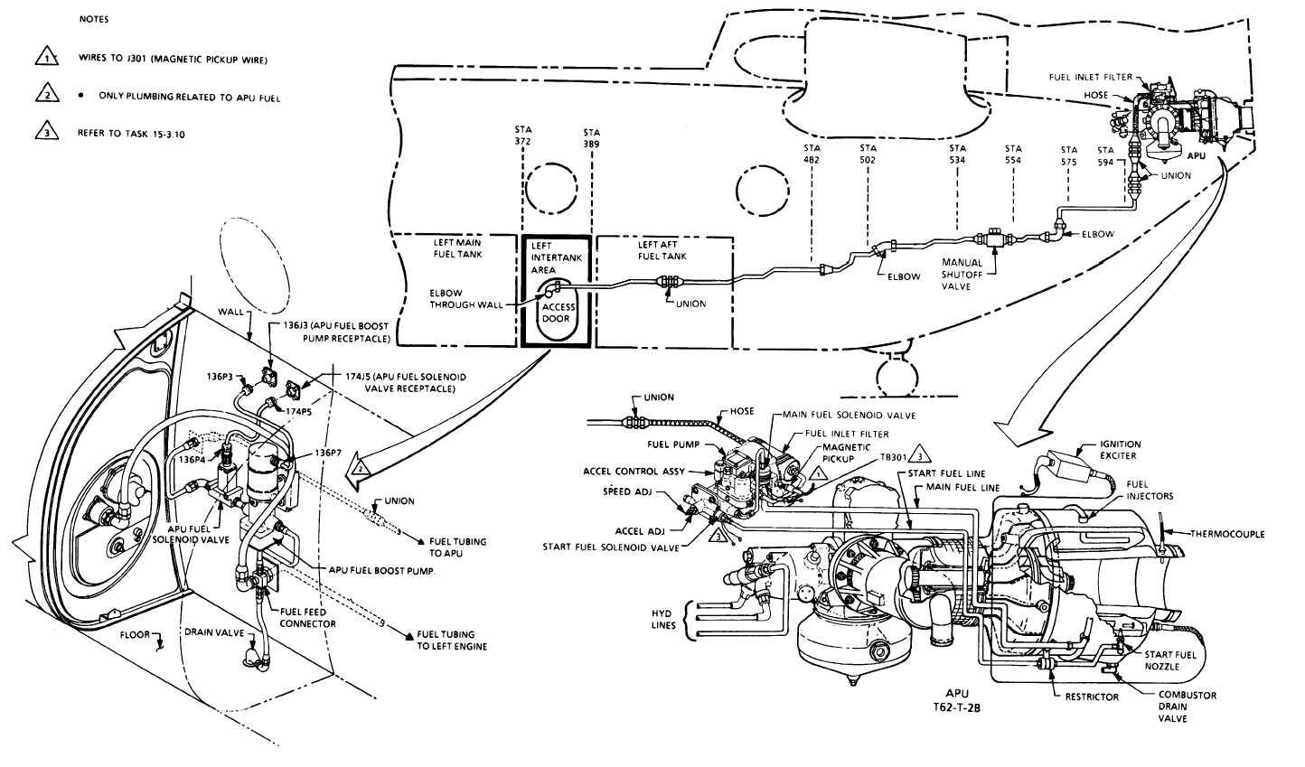 Apu Fuel System Piping Diagram