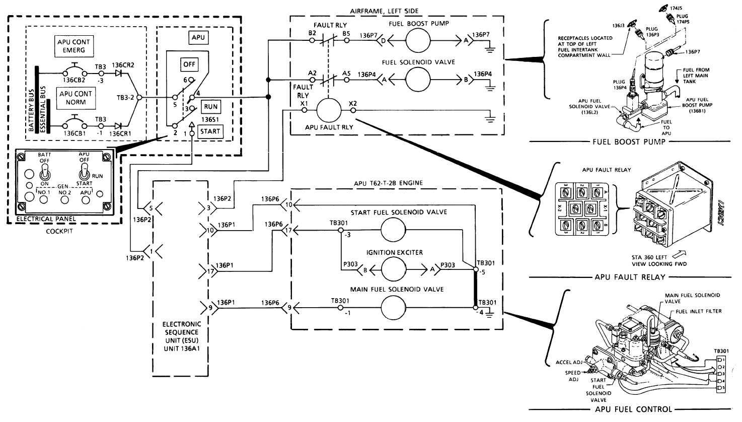 Apu Fuel System Electrical Schematic