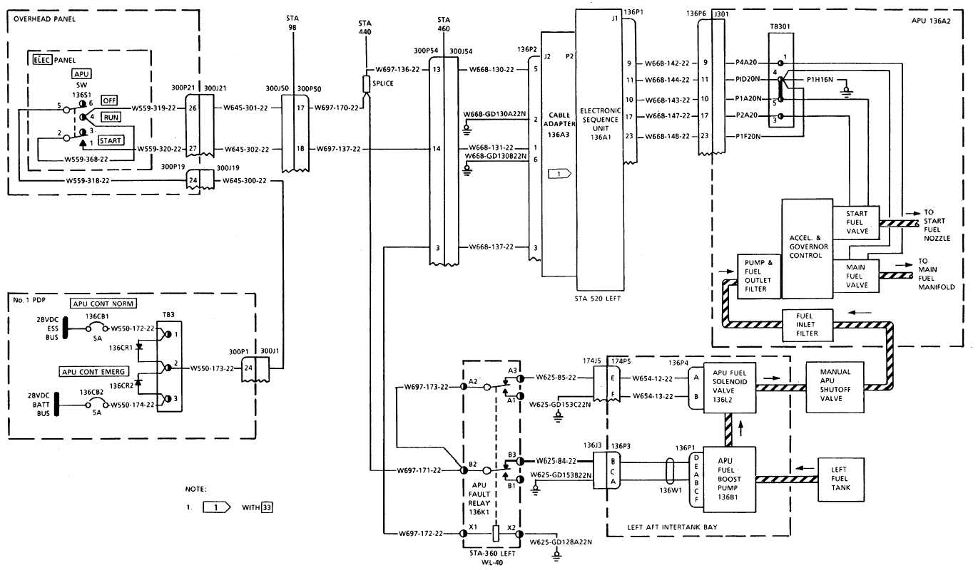Apu Fuel System Wiring Diagram