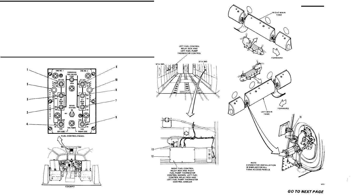 Fuel Boost Pump System Visual Check