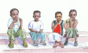 ザンジバルの子供たち
