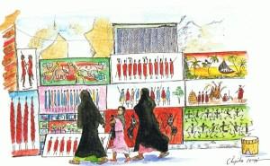 ザンジバル・ストーンタウンの街角