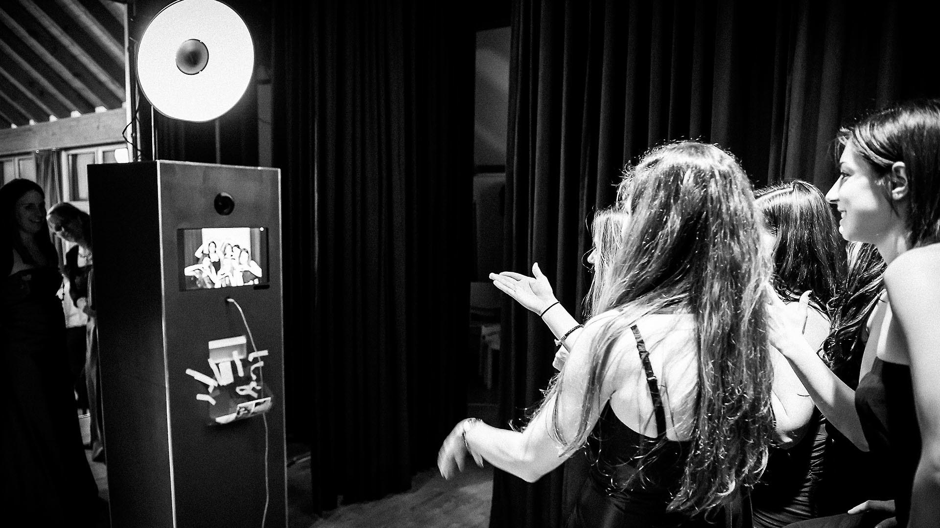 Photobooth im Einsatz