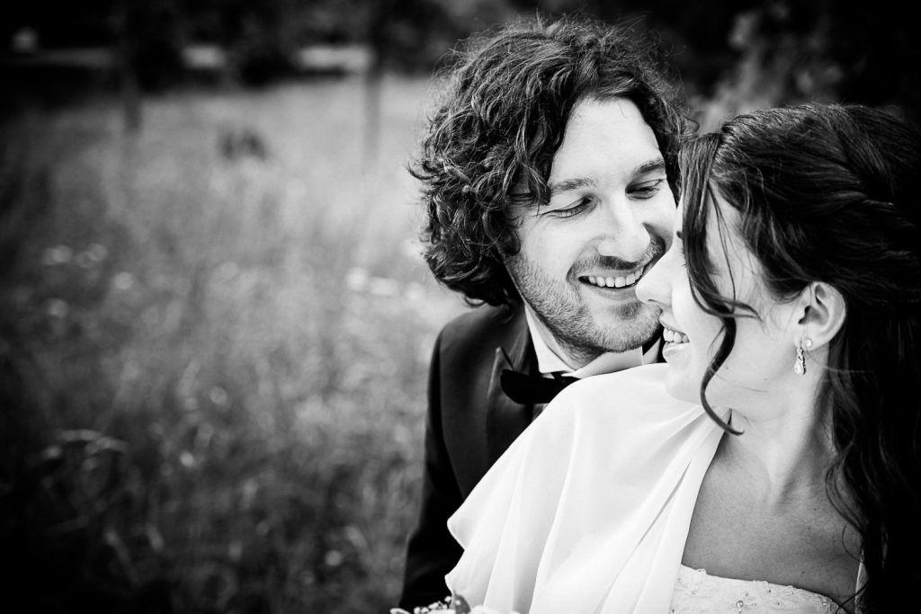 Romantischer Bräutigam
