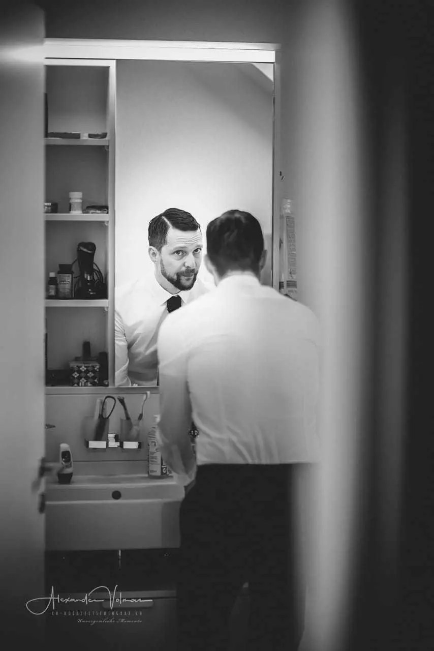 Getting Ready im Badezimmer