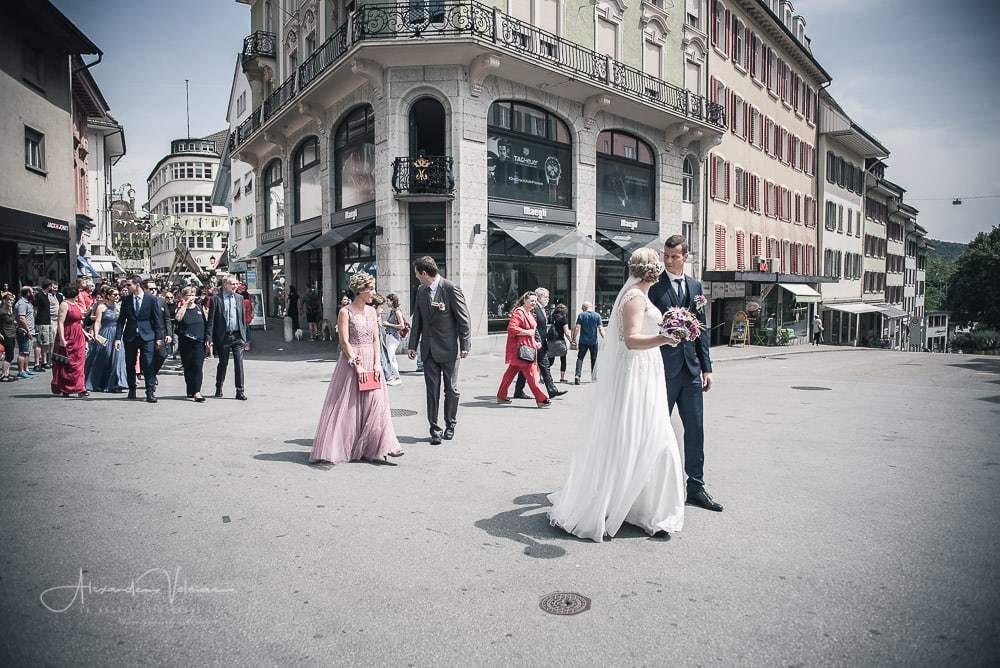 Walkt through Olten - Hochzeitsfotograf