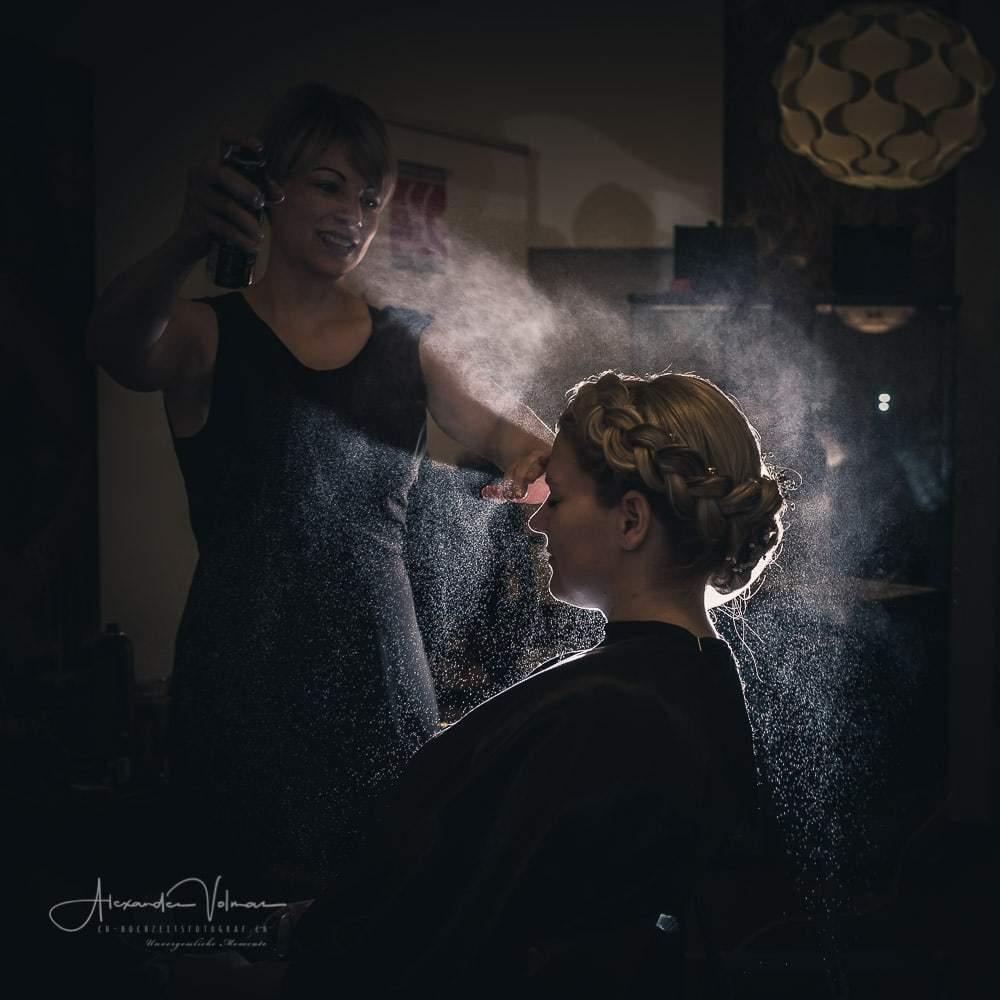 Hairspray Shooting by ch-hochzeitsfotograf.ch
