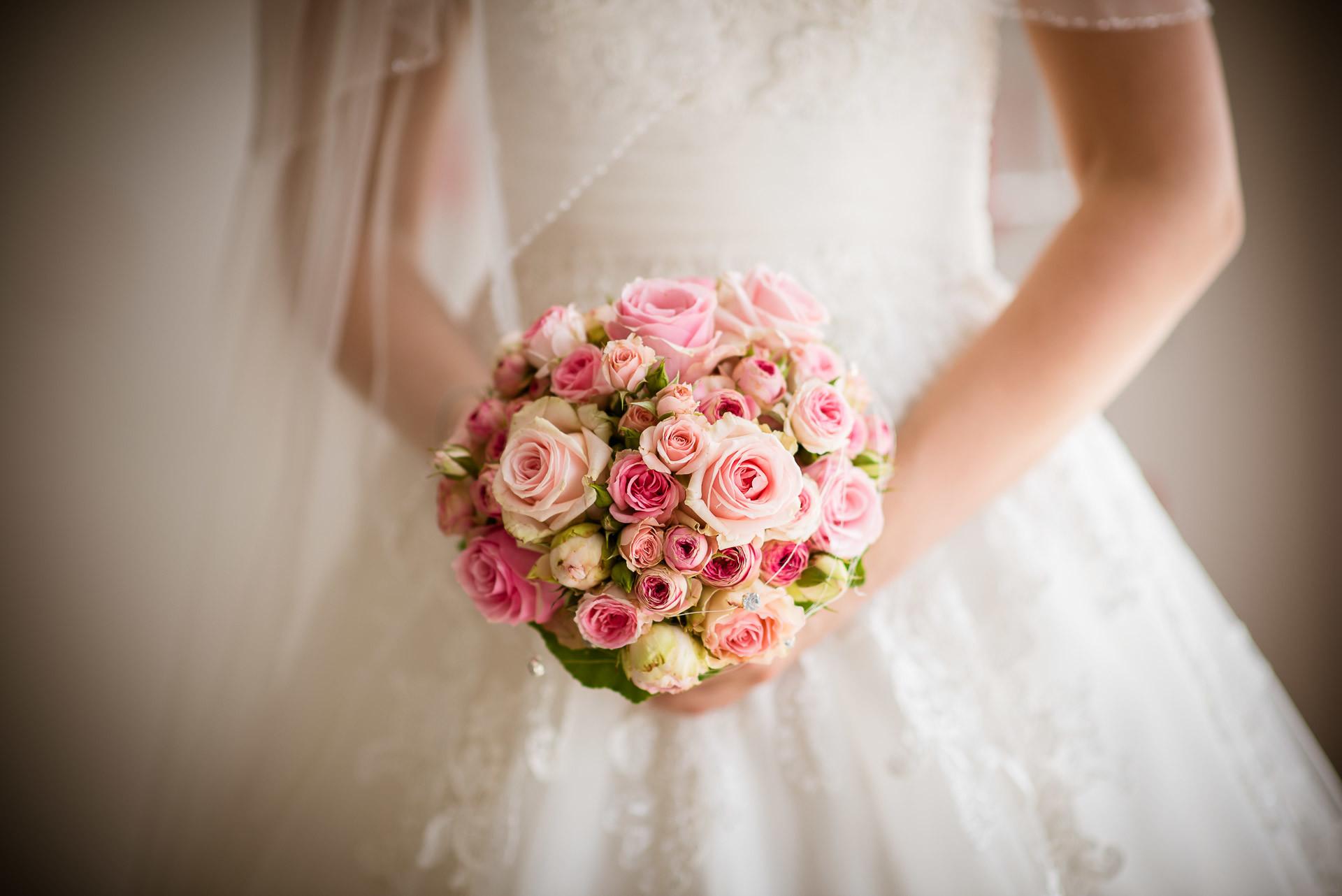 Blumenstrauss fotografiert vom Hochzeitsfotograf