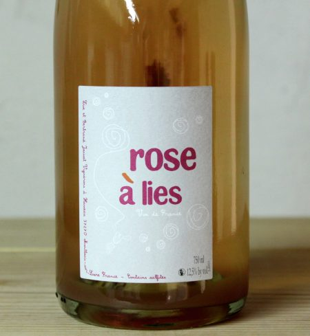 Lise et Bertrand Jousset 'Rose á Lies' Petillant Naturel 2019