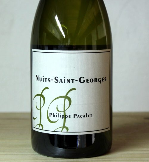 Philippe Pacalet Nuits-Saint-Georges Blanc 2013