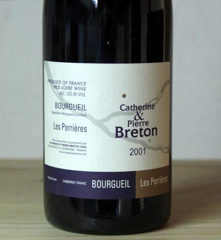 Catherine et Pierre Breton Bourgueil 'Les Perrières' 2001