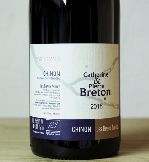 Catherine et Pierre Breton Chinon 'Beaux Monts' 2018
