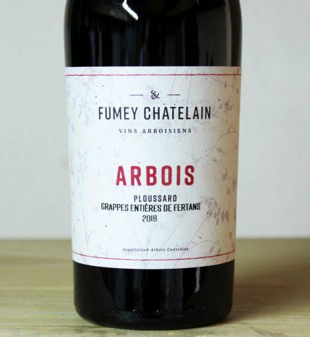 Fumey-Chatelain Arbois Ploussard 'Grappes Entières de Fertans' 2018