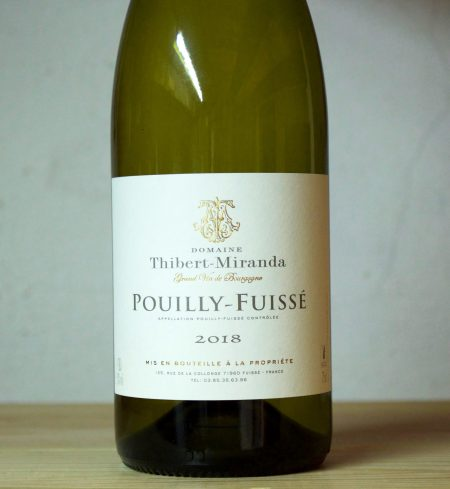 Domaine Thibert-Miranda Pouilly-Fuissé 2018