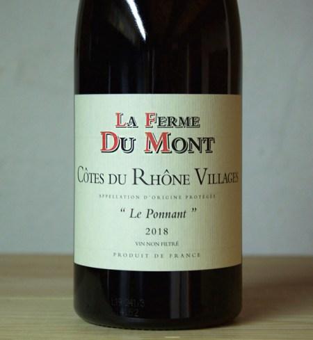 Ferme du Mont Le Ponnant Côtes du Rhône Villages