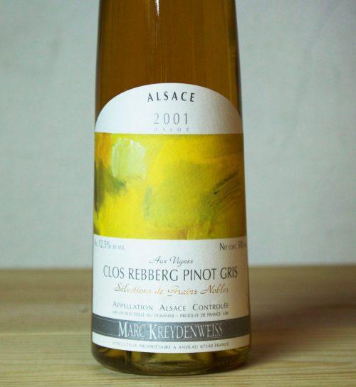 Domaine Kreydenweiss 'Clos Rebberg' SGN pinot gris 2001