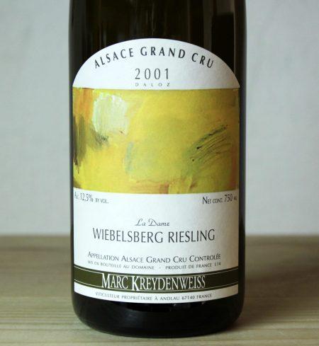 Domaine Kreydenweiss Wiebelsberg Grand Cru 2001