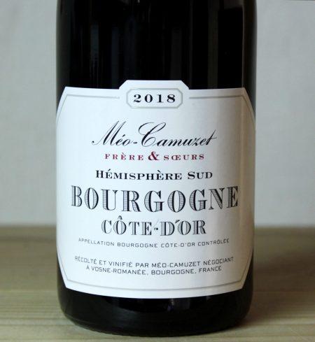 2018 Meo-Camuzet Bourgogne Cote d'Or Hemisphere Sud