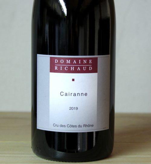 Domaine Richaud Cairanne Rouge 2019