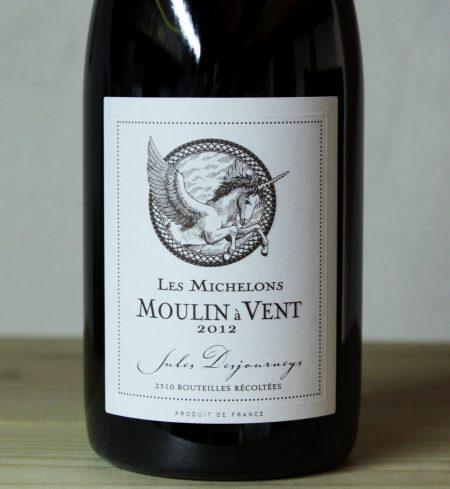 Jules Desjourneys Moulin a Vent 'Les Michelons' 2012