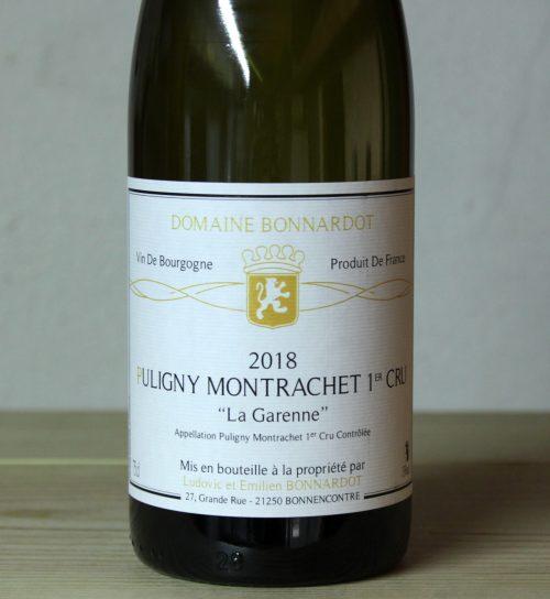 Bonnardot Puligny-Montrachet 1er Cru La Garenne 2018