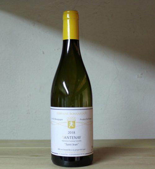 Bonnardot Santenay 'Saint Jean' blanc 2018 full bottle