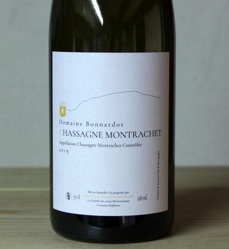 Bonnardot Chassagne Montrachet 2019