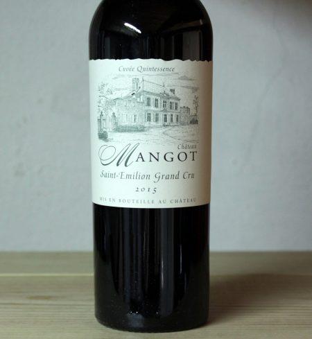 Château Mangot 'Quintessence' Saint-Émilion Grand Cru 2015