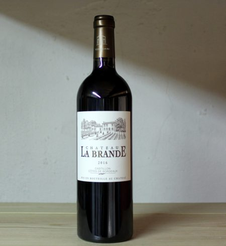 Château La Brande Castillon 2016 full bottle
