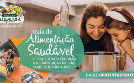 Guia de Alimentação Saudável: 6 Dicas para melhorar a alimentação da sua família no dia a dia